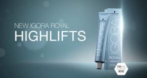 שוורצקופף פרופשיונל- 2 צבעי השיער IGORA ROYAL Highlifts